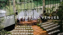 TOP 3 WEDDING VENUES! WE FOUND OURS!