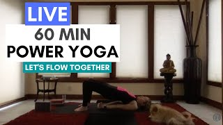 Power Yoga with Carrie Treister