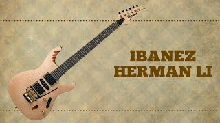 ibanez herman li turbo guitar 139