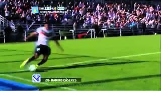 Asistencia de Matías Pérez Acuña en segundo gol a Olimpo