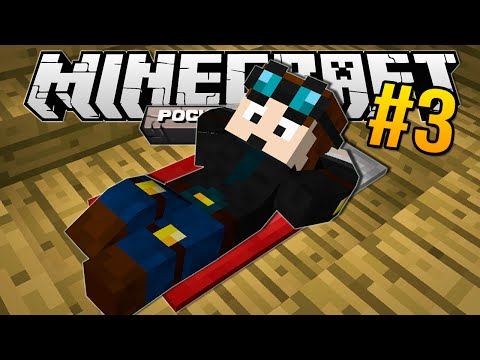 Minecraft Pocket Edition | A SUNKEN BED!! | #3