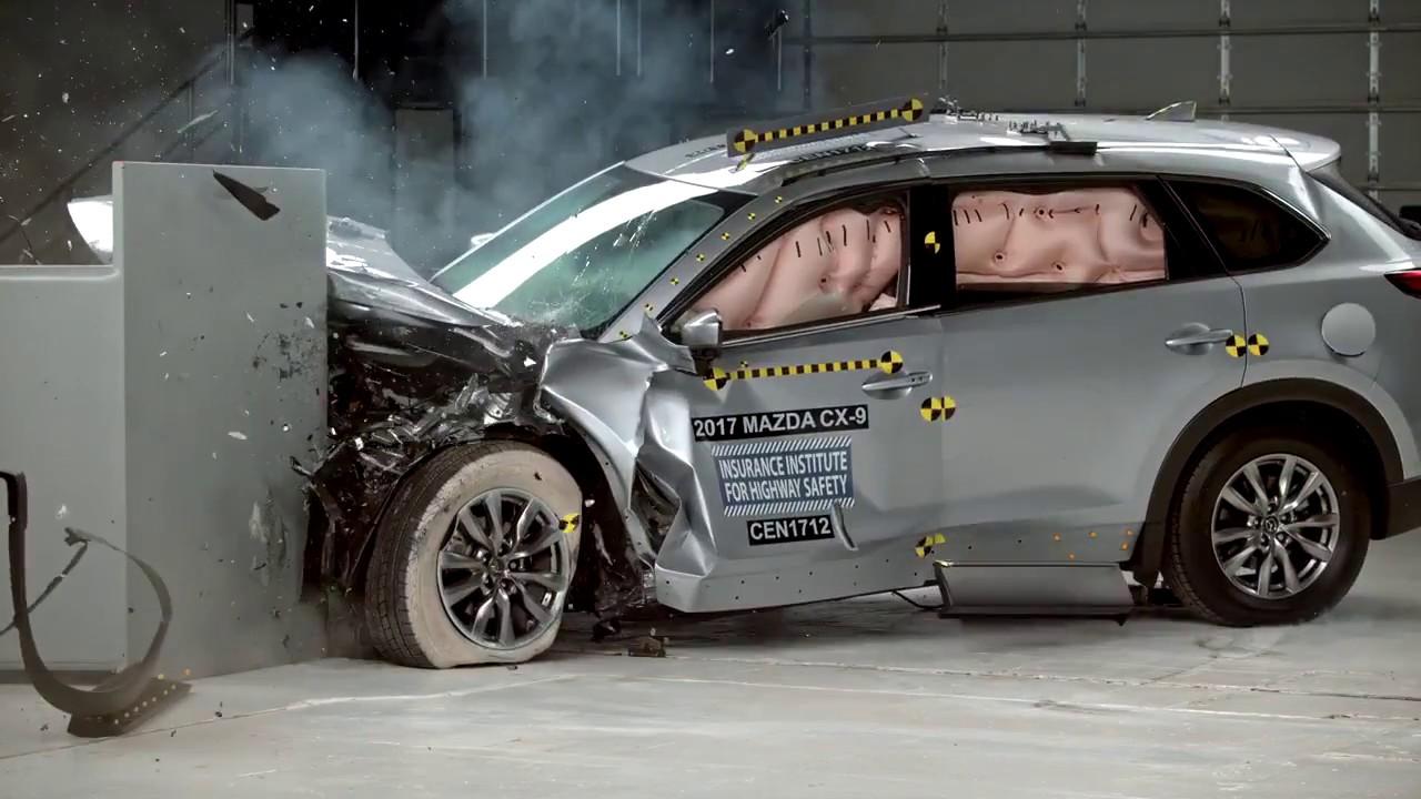 2017 mazda cx 9 crash test youtube autos post. Black Bedroom Furniture Sets. Home Design Ideas