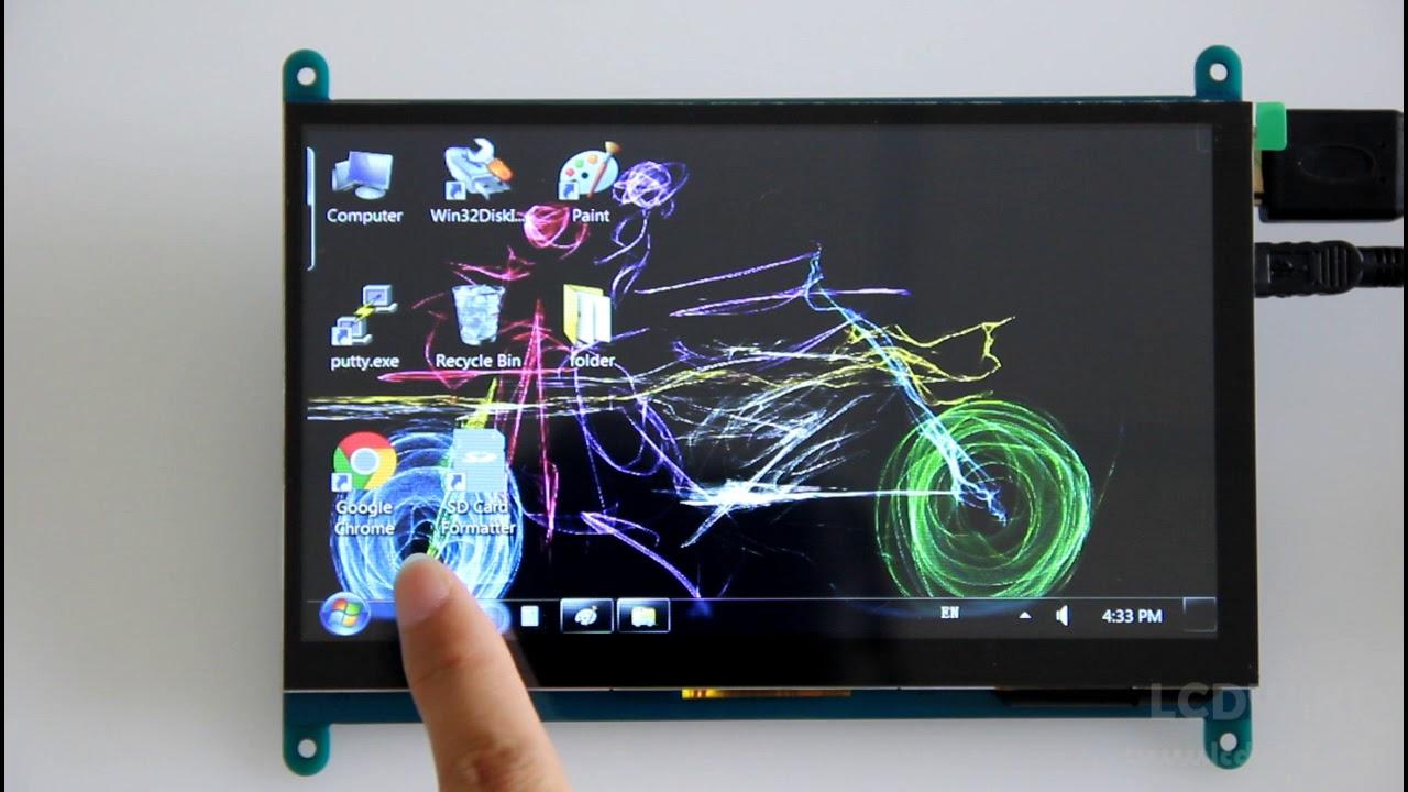 7inch HDMI Display-B - LCD wiki