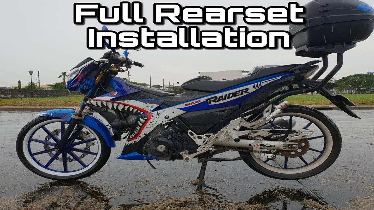 How to make rearset installation | motorcycle online.