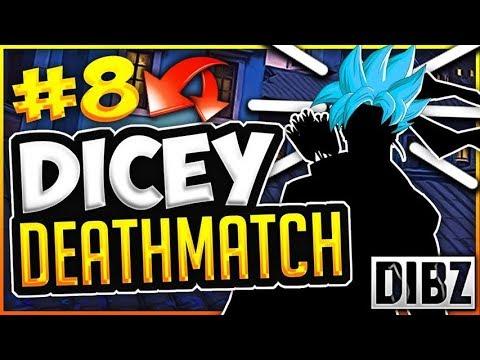 BLUE HAIR! | Dragon Ball Dicey Deathmatch