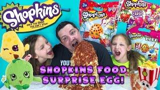 Shopkins Food Surprise Egg - Shopkins Season 3, Micro-Lites, Shopkins Hangers