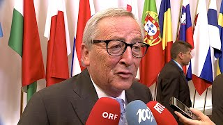 02.07.2019 - Statement Jean-Claude Juncker - Nominierung Ursula von der Leyen Kommissionspräsidentin
