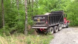 Crush&Run gravel delivery