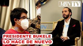 #INCREIBLE Periodista de #ElFaro Tiembla al ver al Presidente Nayib Bukele en #ConferenciaDePrensa