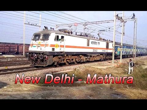Super busy Semi High Speed zone : Indian Railways