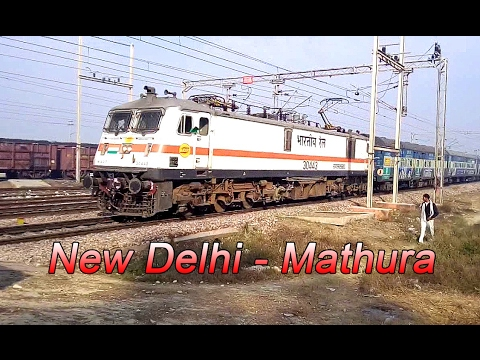Super busy Semi High Speed zone : Indian Railways