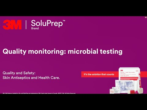 Quality monitoring - microbial testing