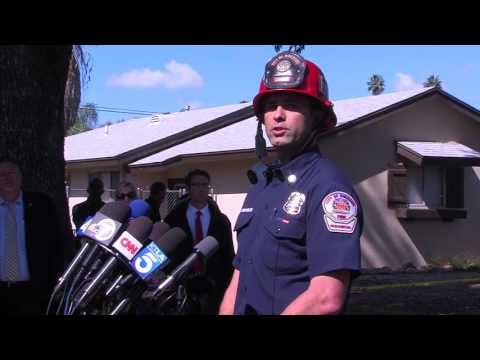 RiversideTV Live Feed: Third Press Conference for Airplane Accident in Riverside, CA