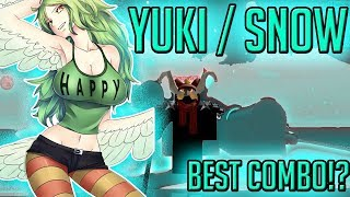 YUKI YUKI / SNOW FRUIT | STEVE'S ONE PIECE | Roblox | Devil Fruit Showcase