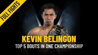 ONE: Full Fights | Kevin Belingon's Top 5 Bouts