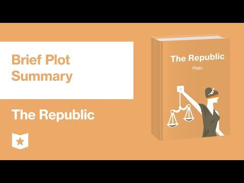 The Republic by Plato   Brief Summary