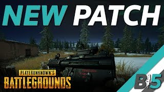 PUBG NEW Update | Rendering Fixes, MP5K, Weapon Balancing, Survivor Pass and Season (Xbox One/PS4)
