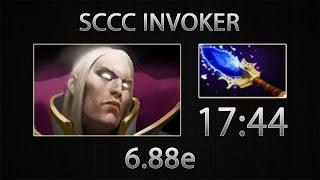 Dota 2 Invoker Fast Farm - Sccc - Aghanim's Scepter - 17:44 [6.88e]