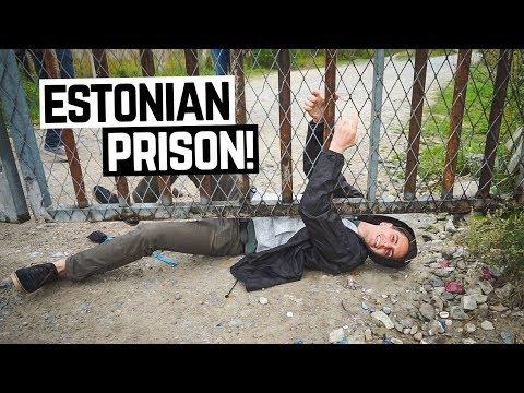 Sneaking into an ABANDONED ESTONIAN PRISON! + Epic Bog Walk (Tallinn, Estonia)