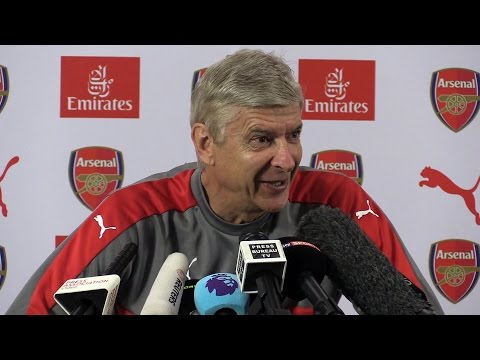 Arsene Wenger Full Pre-Match Press Conference - Leicester v Arsenal