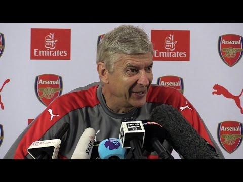 Arsene Wenger Full Pre-Match Press Conference - Leicester v Arsenal