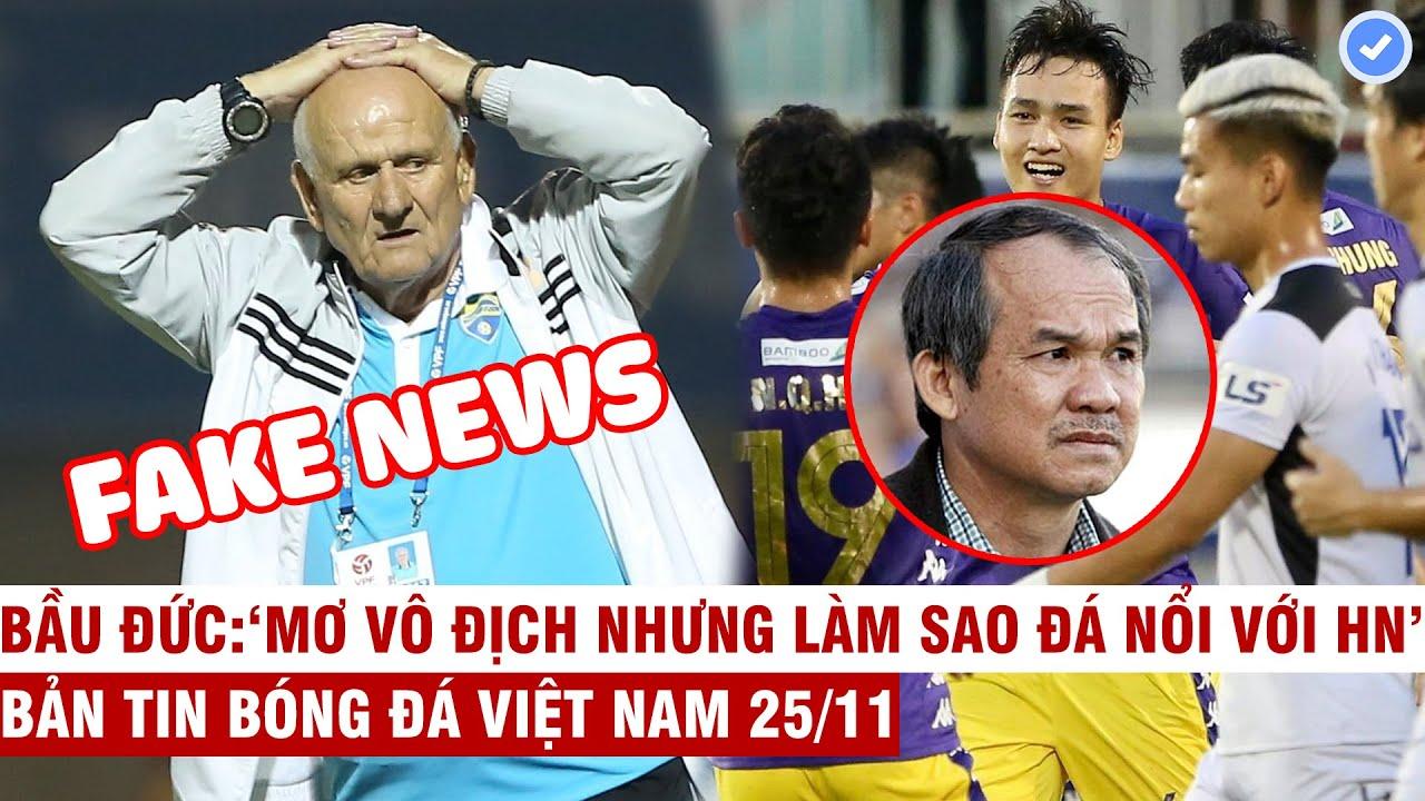 VN Sports 25/11 | Thanh Hóa tuyên bố mua HLV vô địch C1 và cái kết, Bầu Đức:HAGL đá không lại Hà Nội