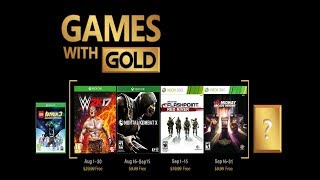 Games With Gold For August 2018 (xbox One & 360) Predictions!