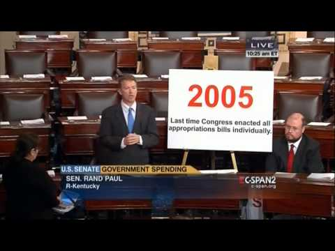 """Rand Paul calls the Continuing Resolution: """"A steaming pile of   """""""