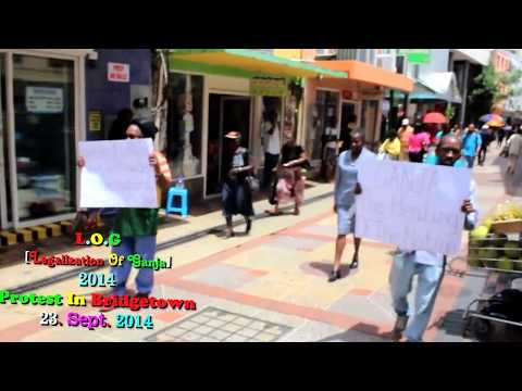 Barbados (The Ganja Protest by L O G} 23.10.14