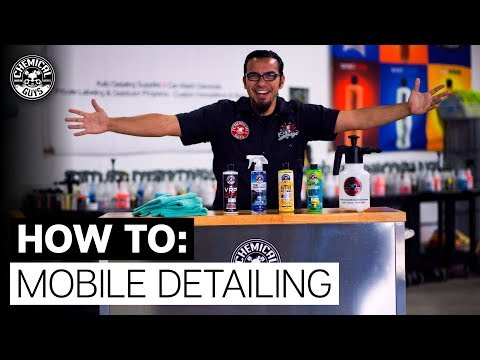 Top 5 Tips: Start Your Own Basic Detailing Business! – Chemical Guys