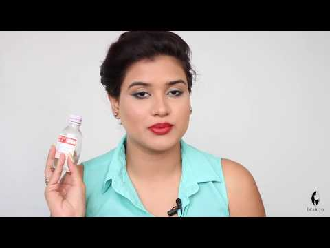 How to Apply Glycerin on Face (Hindi)