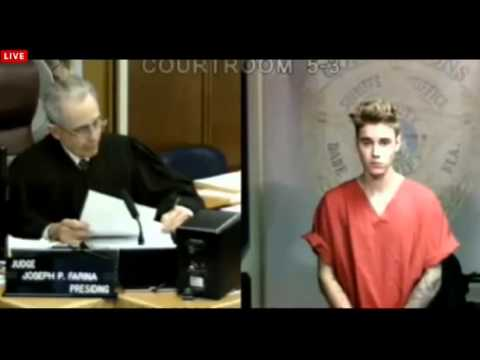 Justin Bieber Arrested For Drag Racing And DUI
