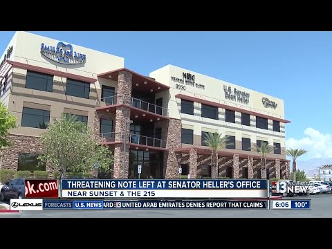 Threatening note left at Senator Dean Heller
