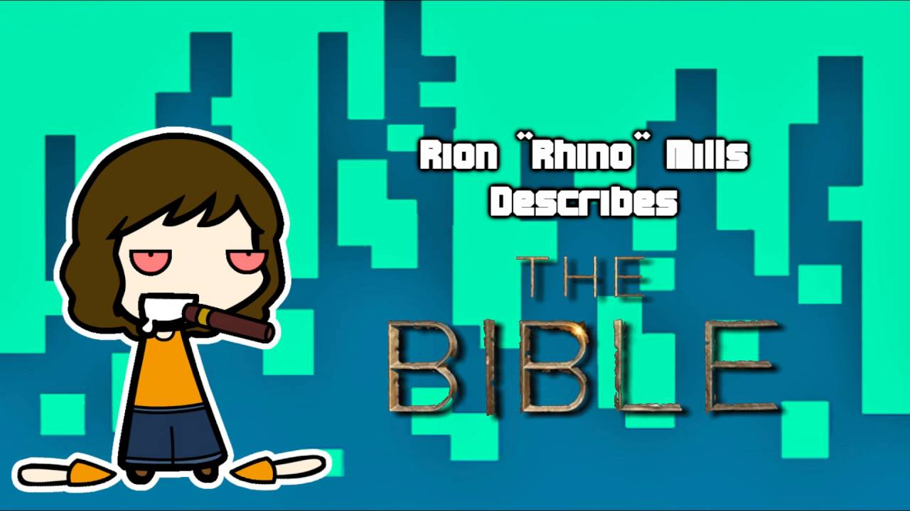 "Rion ""Rhino"" Mills Explains the Bible in Less Than 4 Minutes - Skype calls are beautifully stupid, I swear."