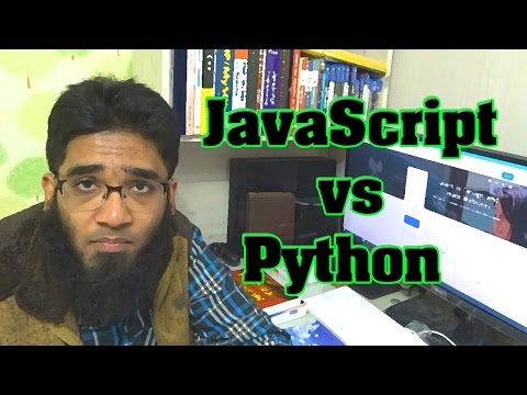 JavaScript vs Python for Web Development