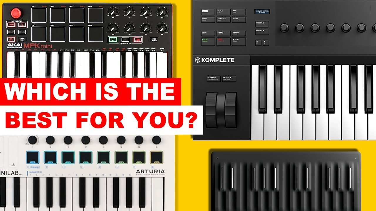 Top Midi Keyboards 2018 - Which one is right for you?