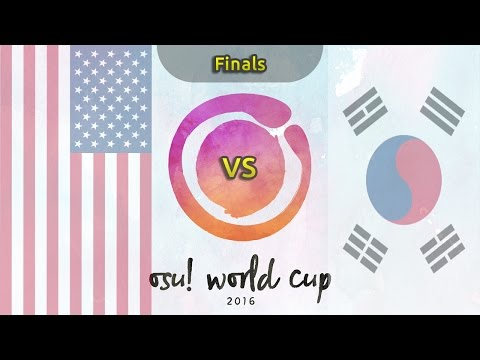 osu! World Cup 2016 | Finals | USA vs South Korea /w Twitch Chat