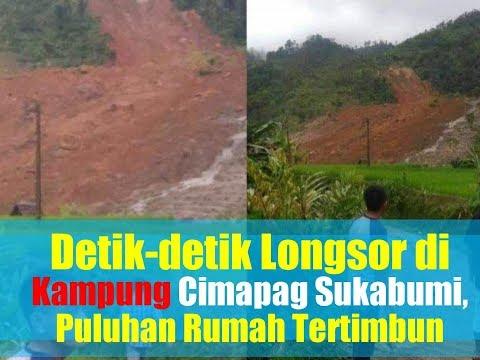 Detik-detik Longsor Terjadi di Kampung Cimapag Sukabumi, Puluhan Rumah Warga Tertimbun Mp3