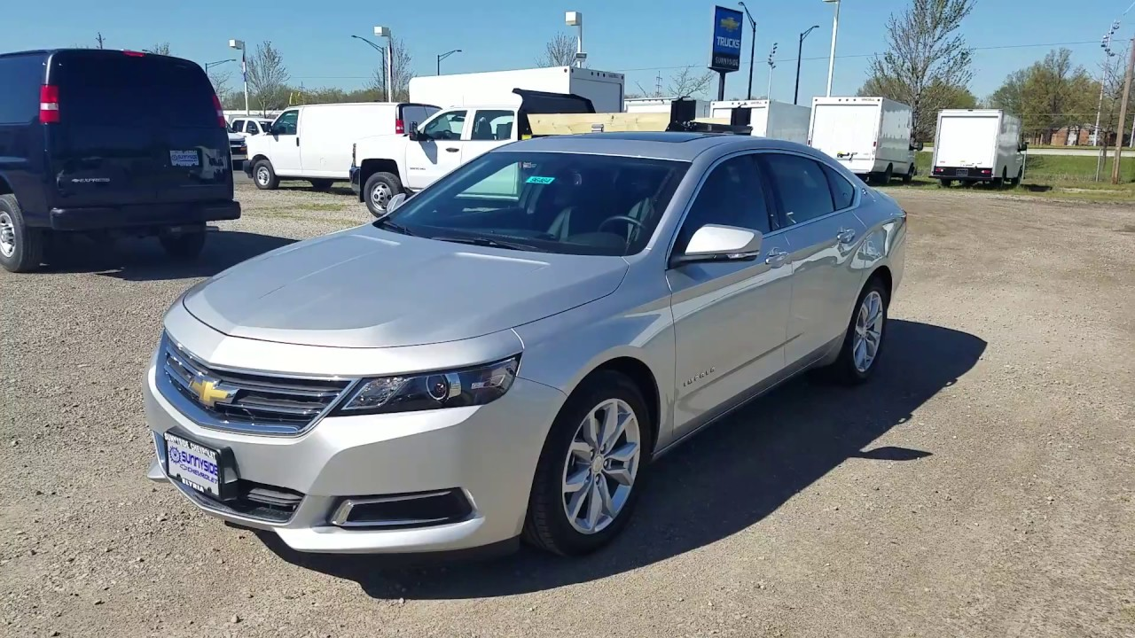 2017 chevy impala 1lt silver ice metallic youtube. Black Bedroom Furniture Sets. Home Design Ideas