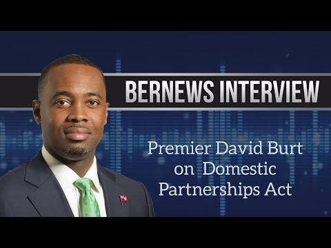 Premier Burt On Domestic Partnerships Act, Dec 15 2017