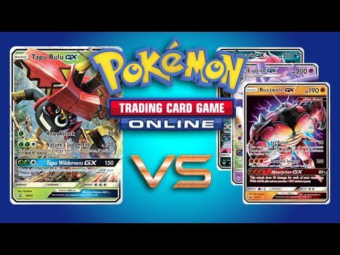 Tapu Bulu GX / Vikavolt vs 3x Random Opponents - Pokemon TCG Online Gameplay