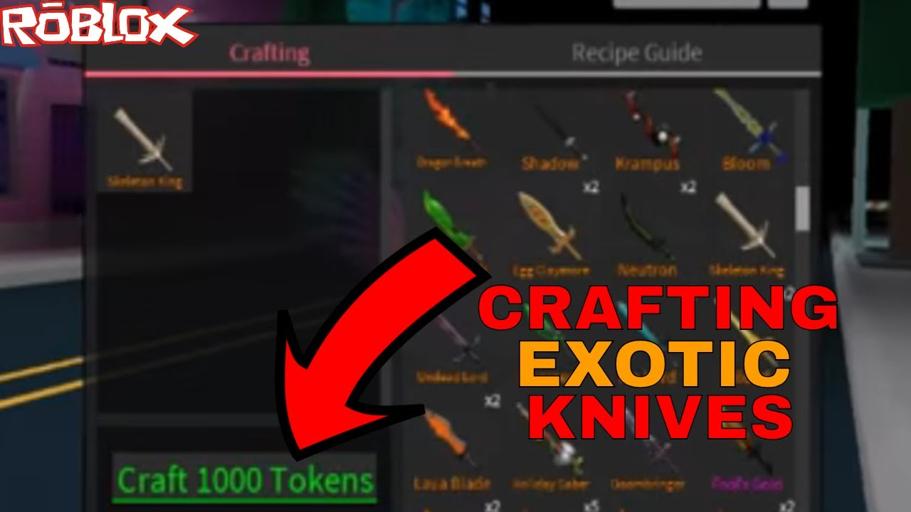 Roblox Hack Assassins Tokens And Exotic Knifes Hack