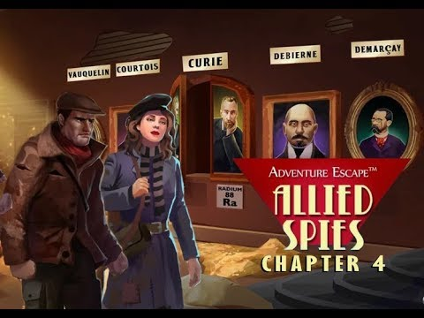 Adventure Escape: Allied Spies Chapter 4