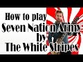 Seven Nation Army - White Stripes Guitar Tutorial - Easy Riffs Lesson #3
