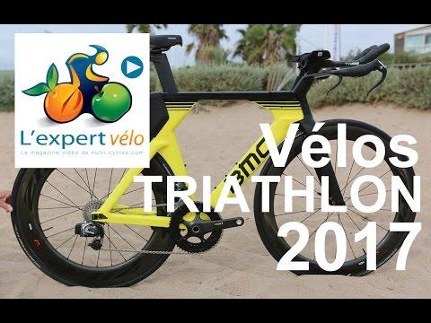 Image de la vidéo Vélos triathlon 2017 : Canyon Speedmax CF, Liv Avow et BMC TimeMachine 01
