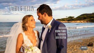 Laura & Justin - Pieds dans le sable à St Tropez [Film de mariage]