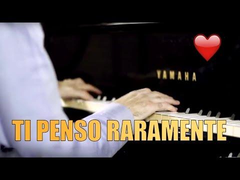 Biagio Antonacci - Ti Penso Raramente - HD Piano Cover - By Jazzy Fabbry