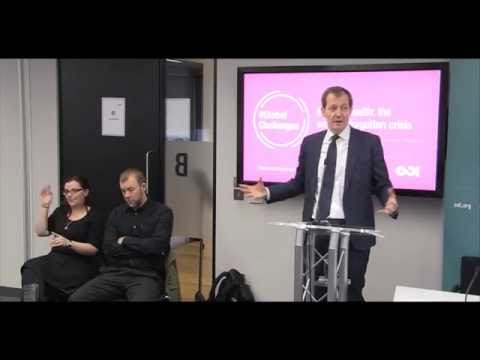 Mental health: keynote speech by Alastair Cambpell and panel debate
