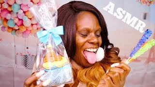 ASMR Rock Candy Whispers Scratching Tapping You To Sleep