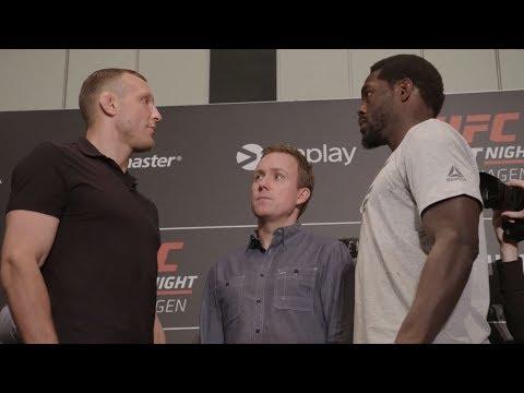 UFC Copenhagen: Media Day Faceoffs